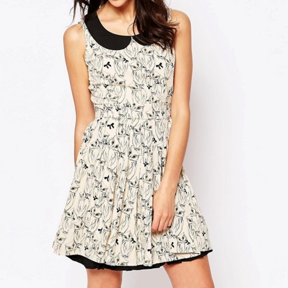 ASOS Dresses & Skirts - ASOS Yumi Owl Print Dress